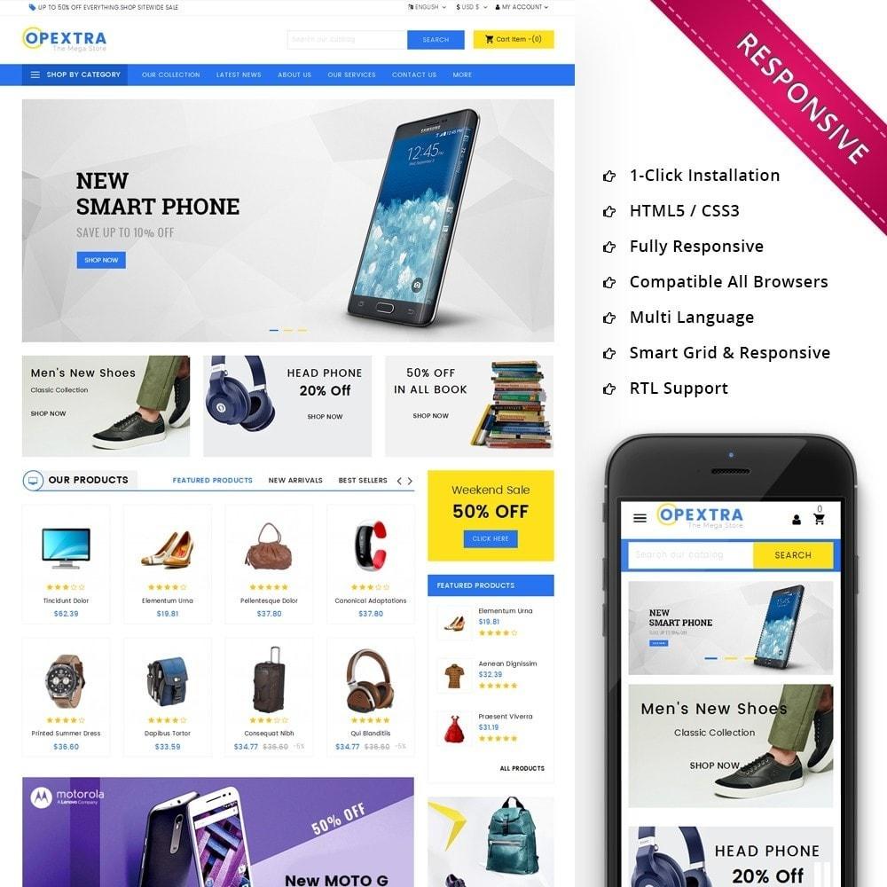 theme - Moda y Calzado - Opextra Mega Store - 1