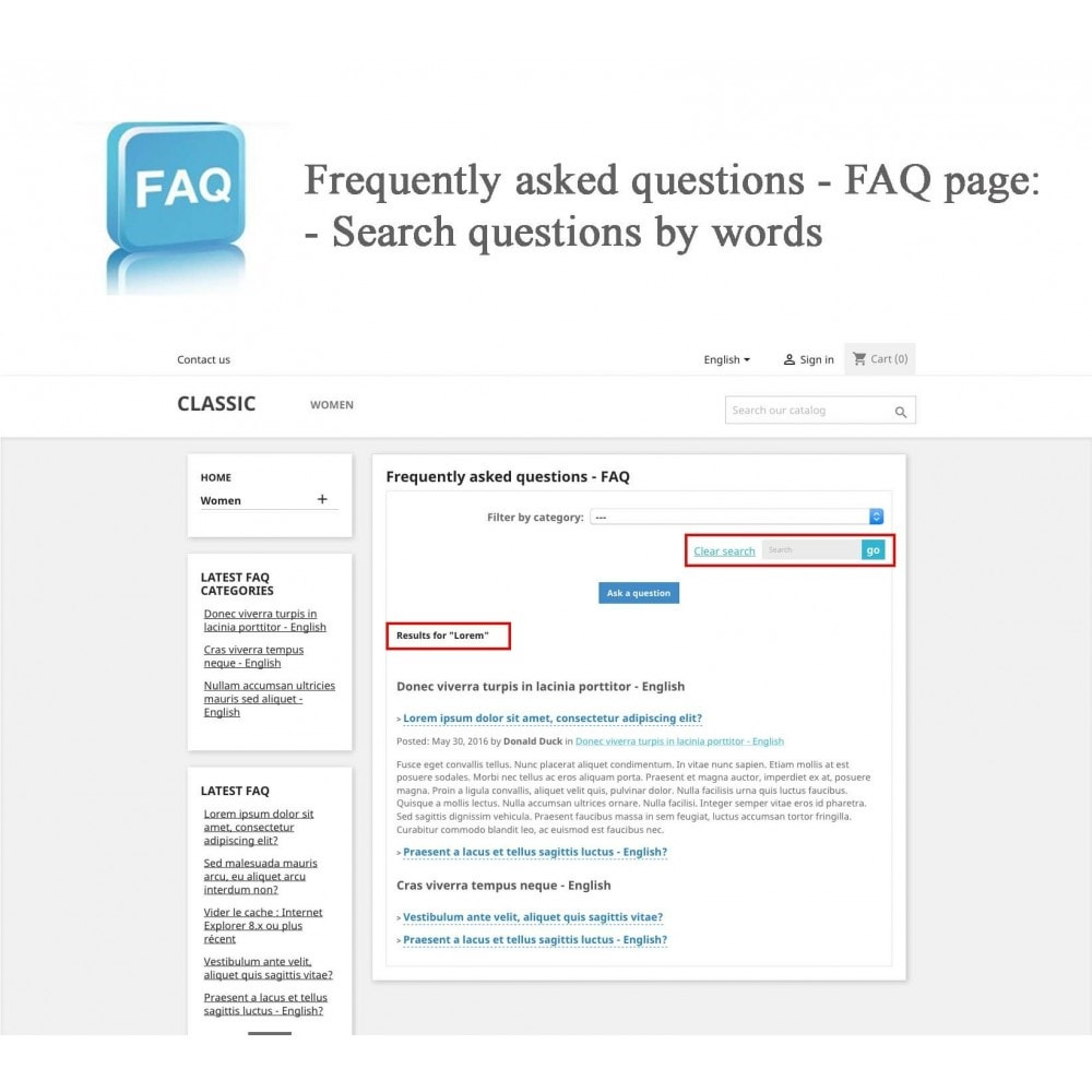 module - FAQ (Domande Frequenti) - Frequently asked questions - FAQ - 11