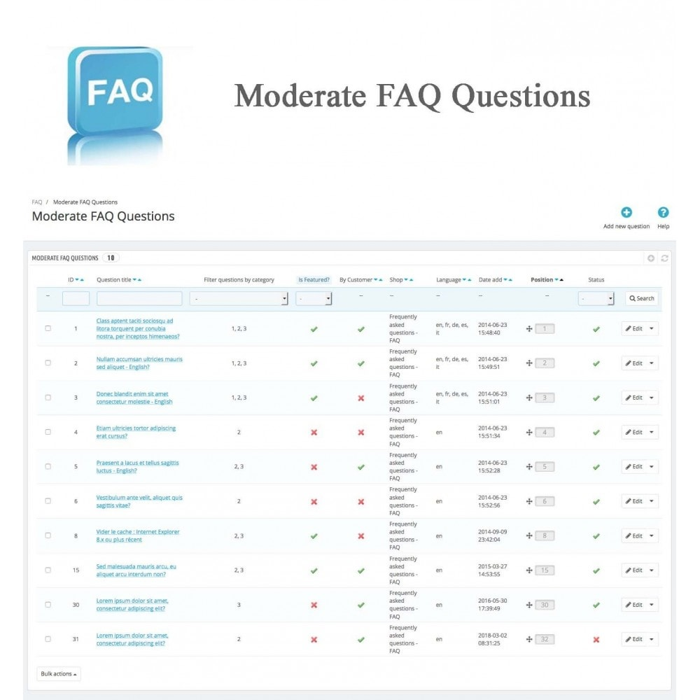 module - FAQ (Perguntas frequentes) - Frequently asked questions - FAQ - 21