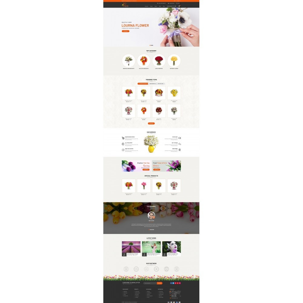 theme - Gifts, Flowers & Celebrations - Flora - Flower Store - 2