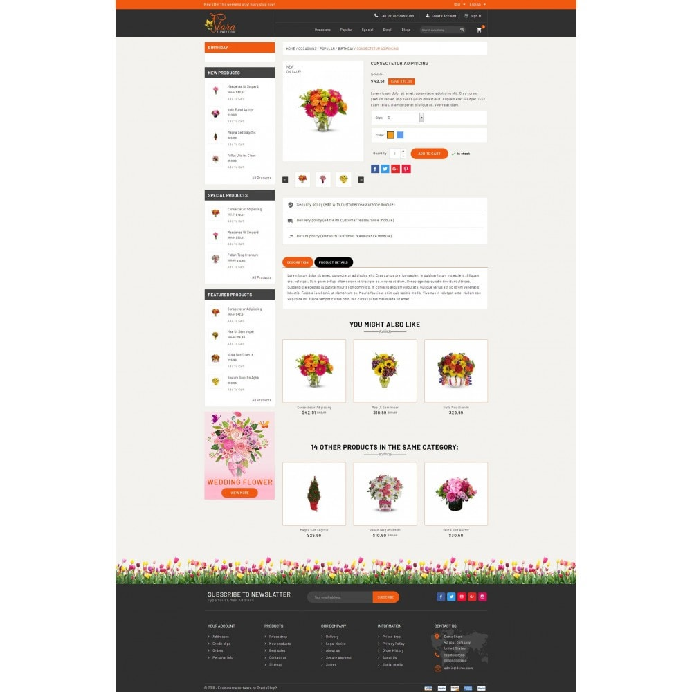 theme - Gifts, Flowers & Celebrations - Flora - Flower Store - 5