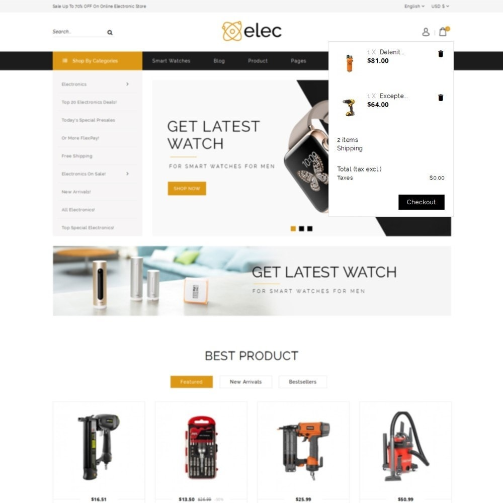 theme - Elektronica & High Tech - Elec Electronic Store - 7