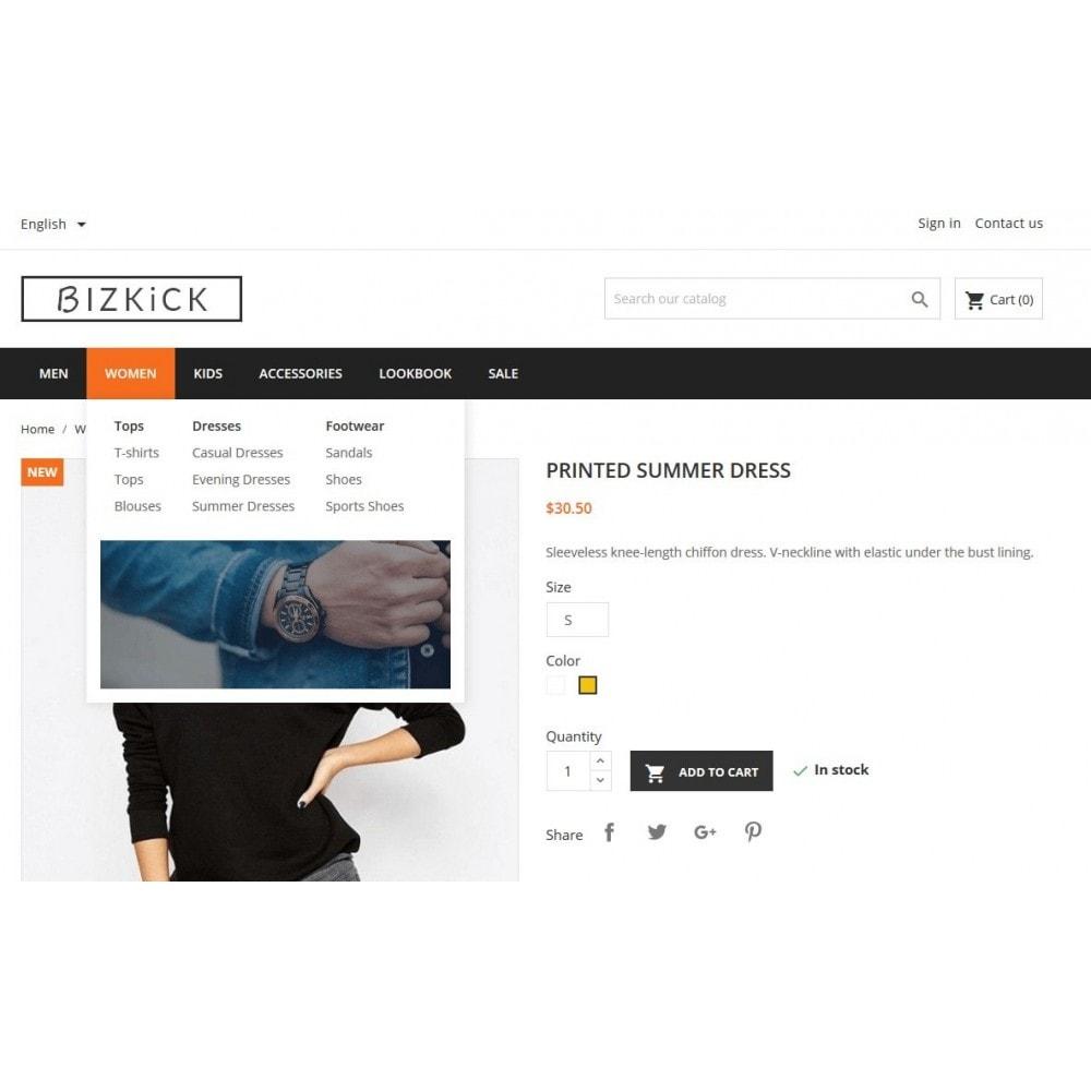 theme - Мода и обувь - BizKick – Fashion Store - 2
