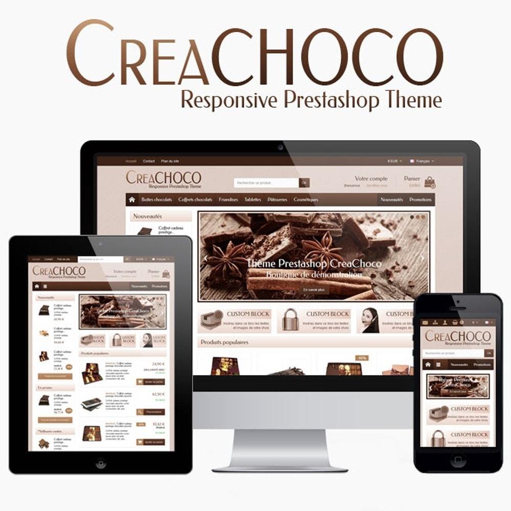 theme - Lebensmittel & Restaurants - CreaChoco - 1