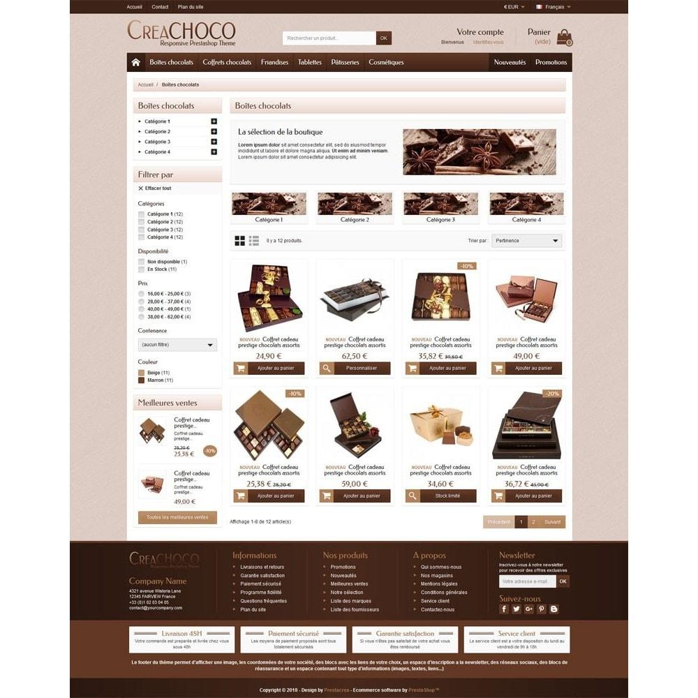 theme - Lebensmittel & Restaurants - CreaChoco - 3