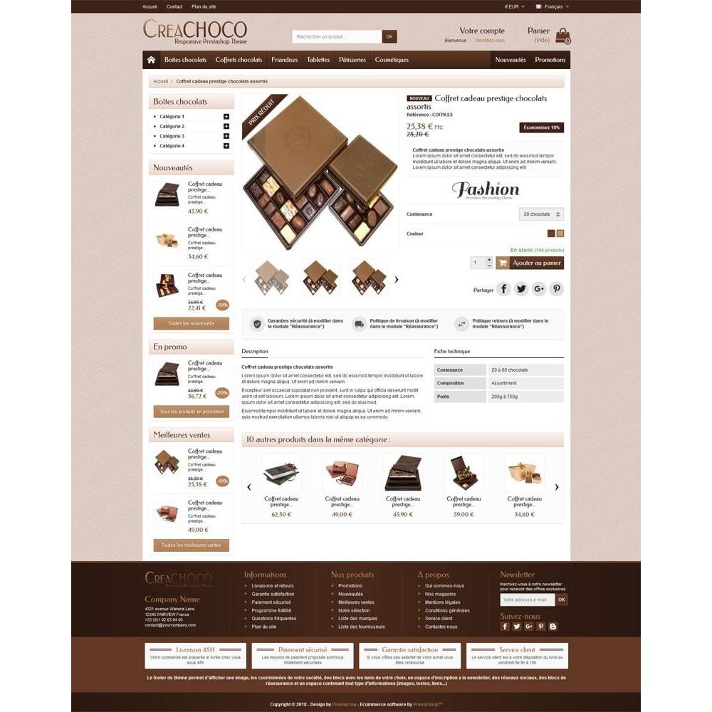 theme - Lebensmittel & Restaurants - CreaChoco - 4