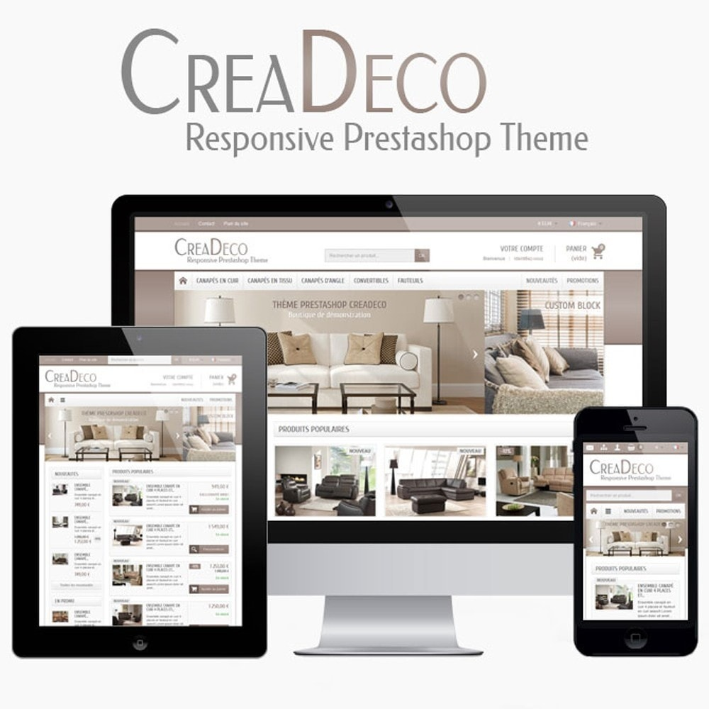 theme - Heim & Garten - CreaDeco - 1