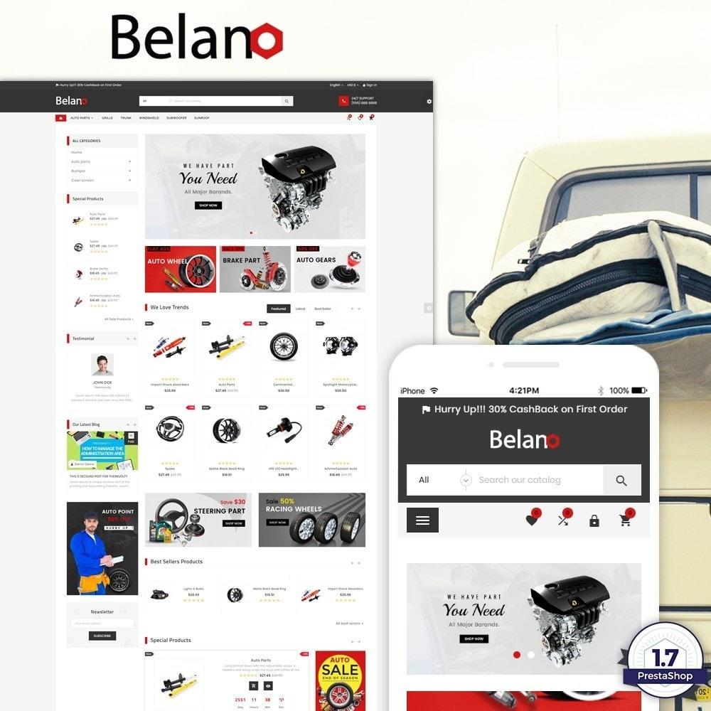 theme - Авто и Мото - Belano – AutoPart Super Store v3 - 1