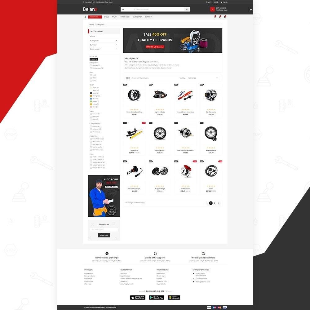 theme - Auto's & Motoren - Belano – AutoPart Super Store v3 - 3