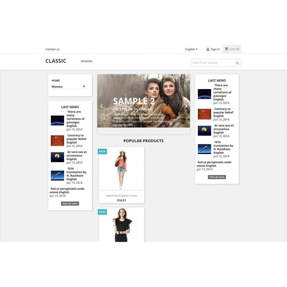 module - Blog, Forum & Actualités - News - 3