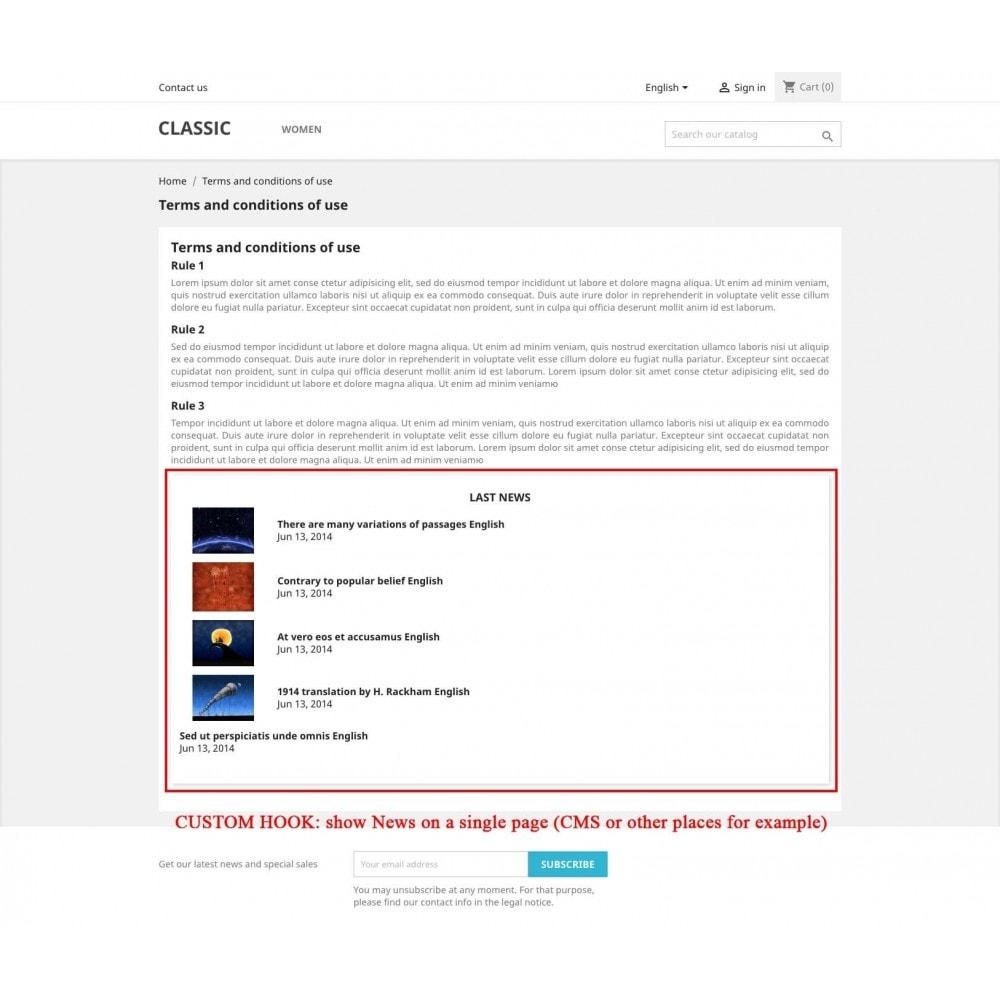 module - Blog, Forum & Actualités - News - 5