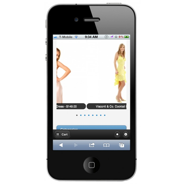 module - Dispositivos móviles - PrestaShop Mobile Tema 1.4 - 2