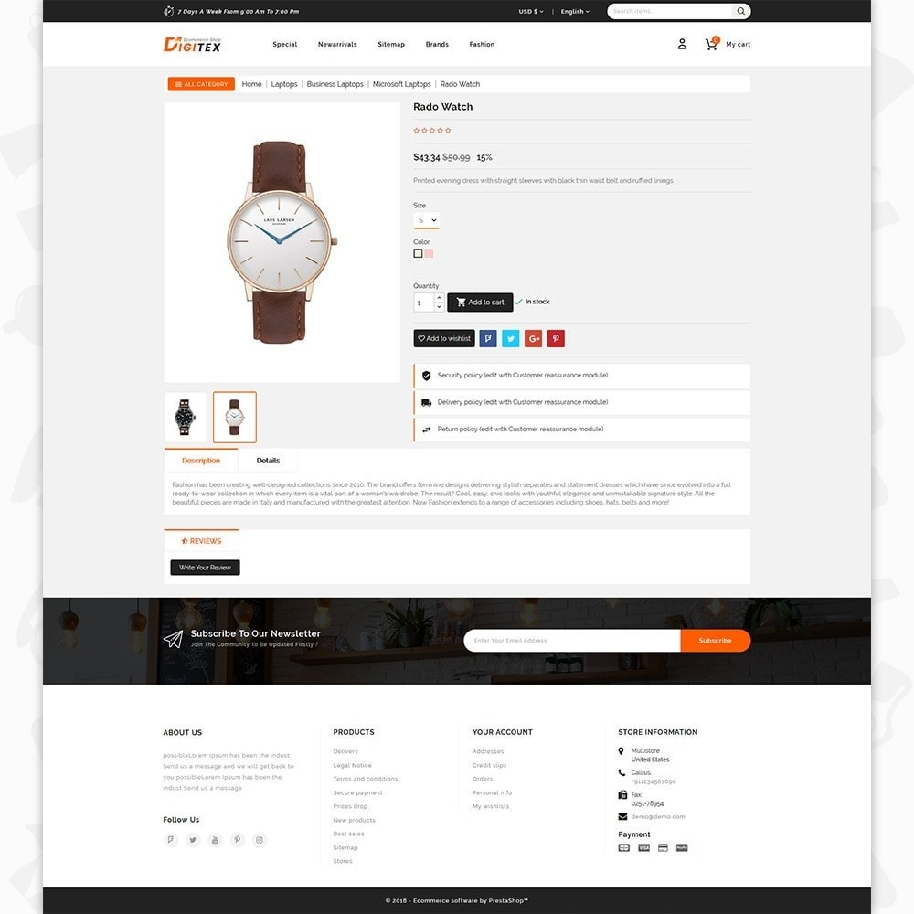 theme - Electronique & High Tech - Digitex - The Ecommerce Shop - 5