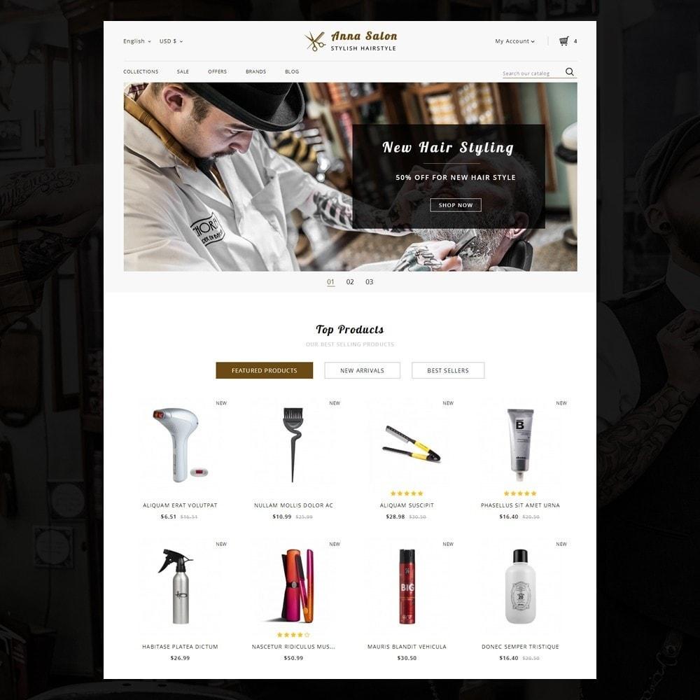 theme - Health & Beauty - Anna Salon Store - 2