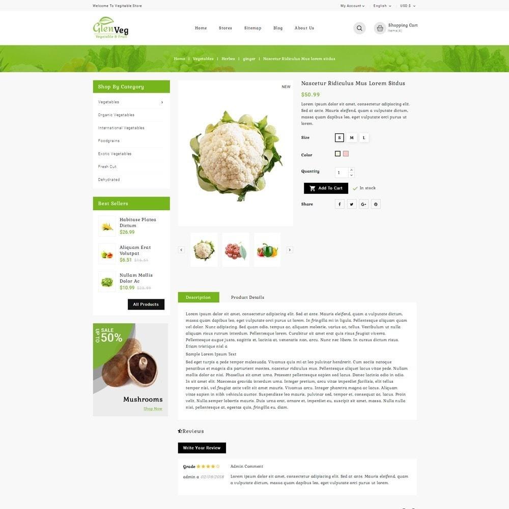 theme - Lebensmittel & Restaurants - Glen Veg Store - 5