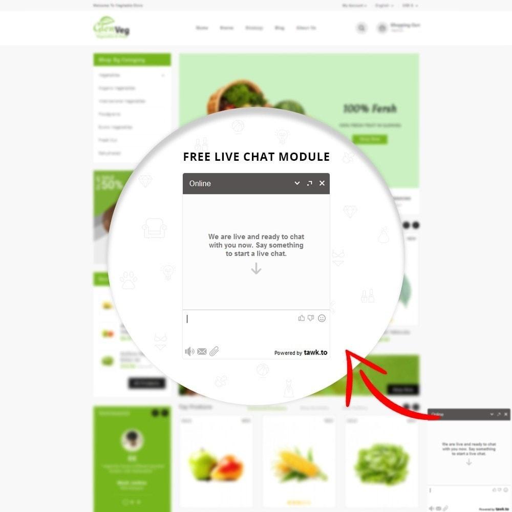 theme - Lebensmittel & Restaurants - Glen Veg Store - 7