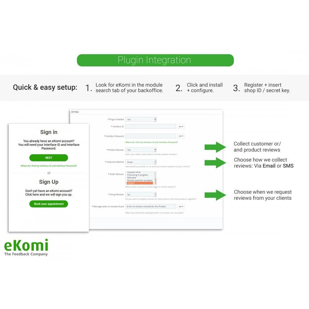 module - Kundenbewertungen - eKomi Bewertungen - 1