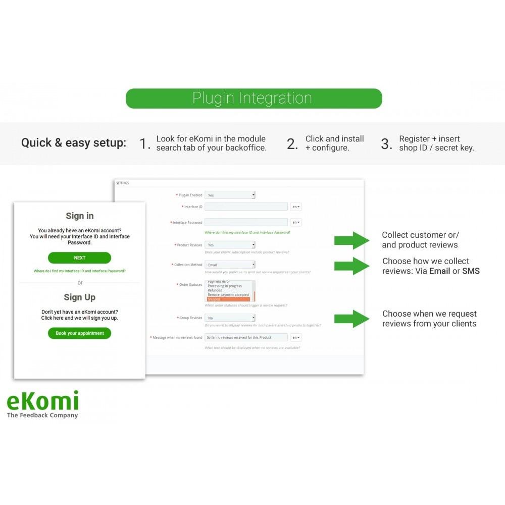 module - Comentarios de clientes - Valoraciones y Calificaciones eKomi - 1