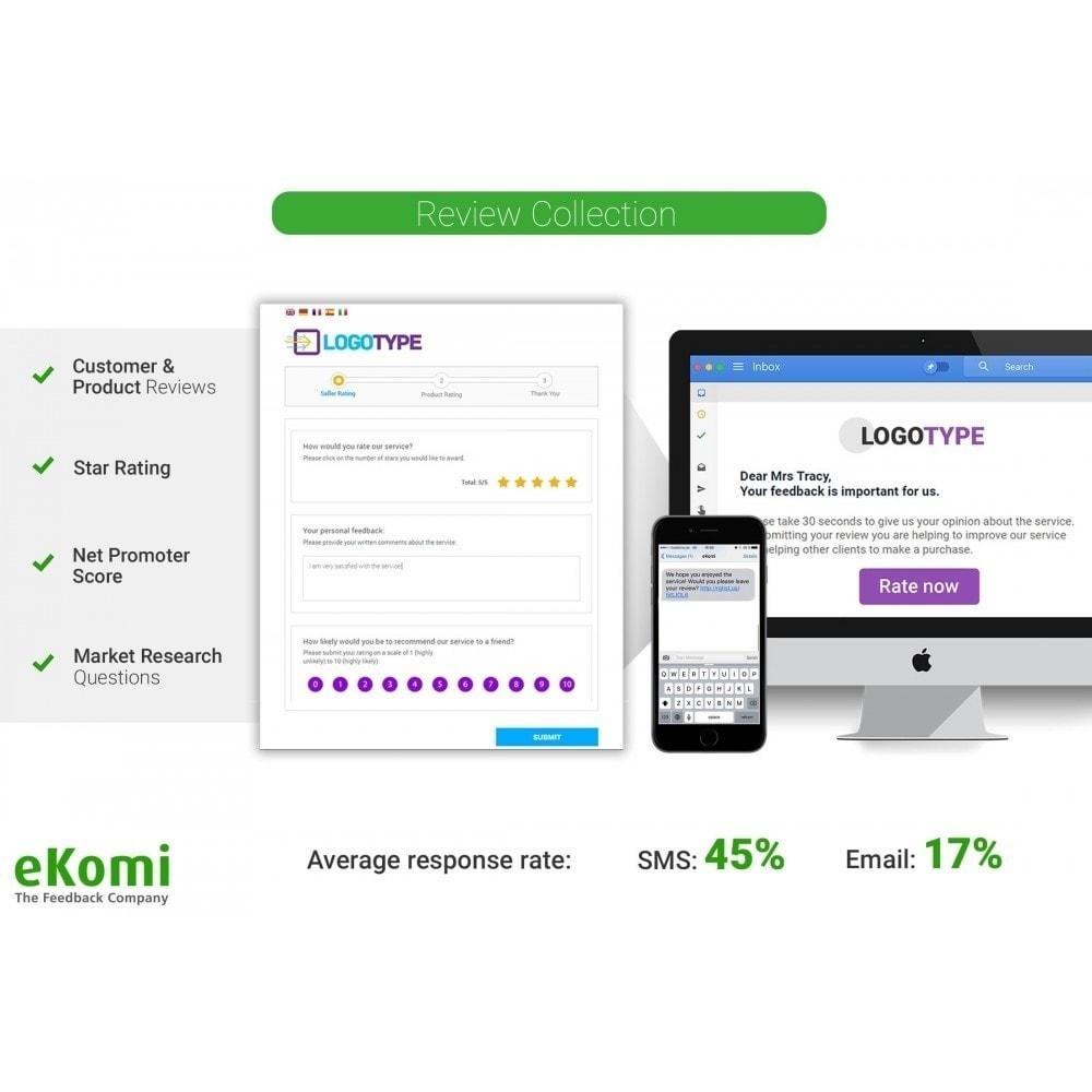module - Comentarios de clientes - Valoraciones y Calificaciones eKomi - 2