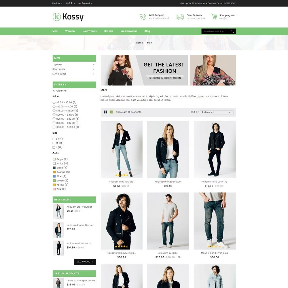 theme - Moda y Calzado - Kossy - Fashion Store - 3