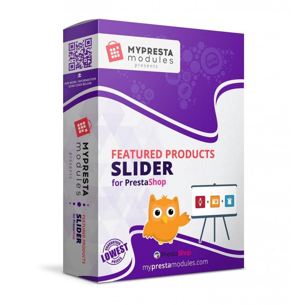 module - Slider & Gallerie - Featured Products Slider - 1