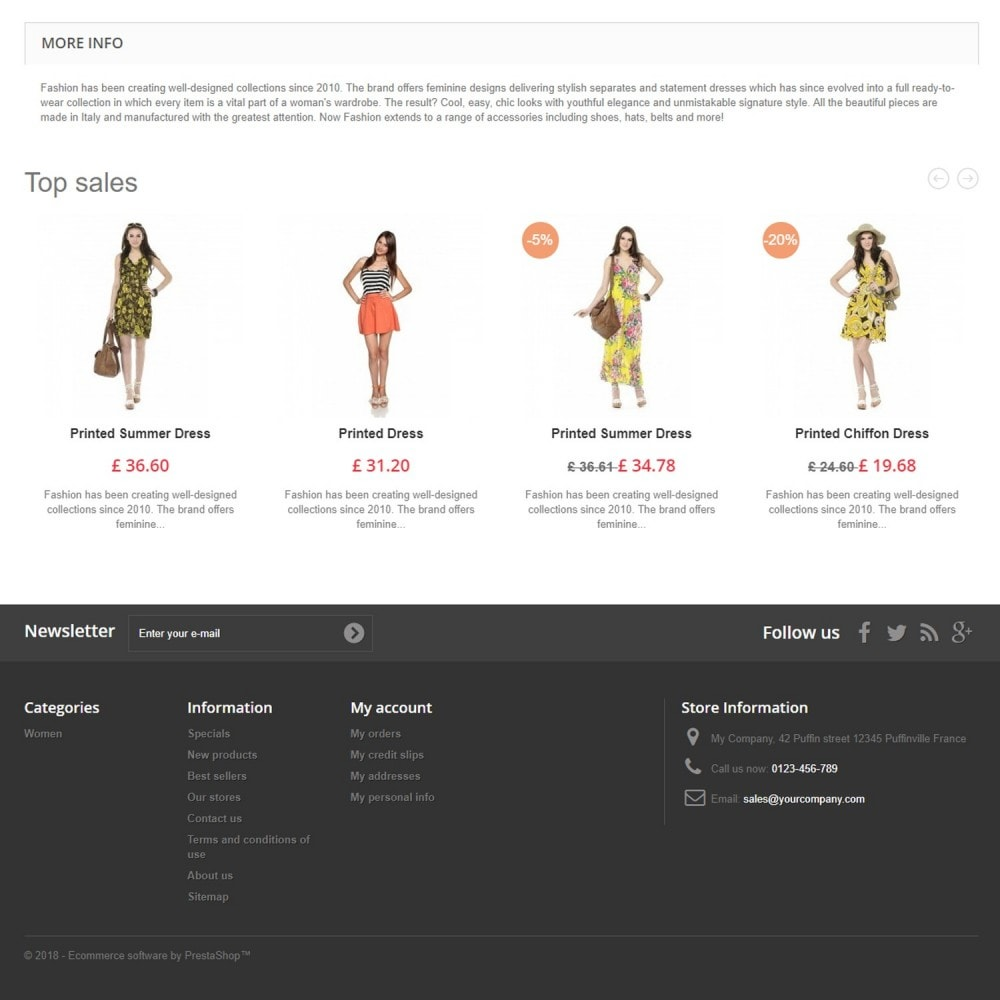 module - Slider & Gallerie - Featured Products Slider - 8