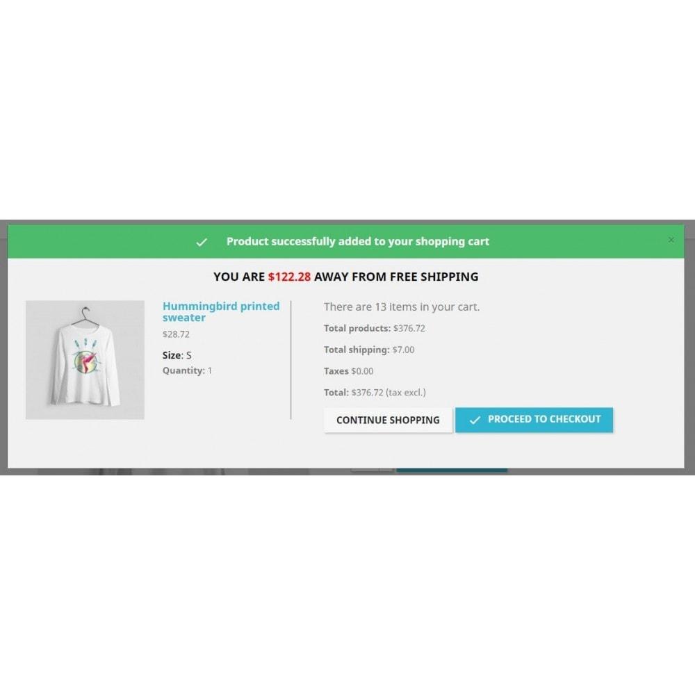 module - Verzendkosten - Free Shipping Incentive - 1