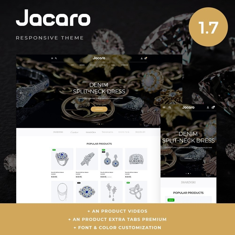 theme - Biżuteria & Akcesoria - Jacaro - 1