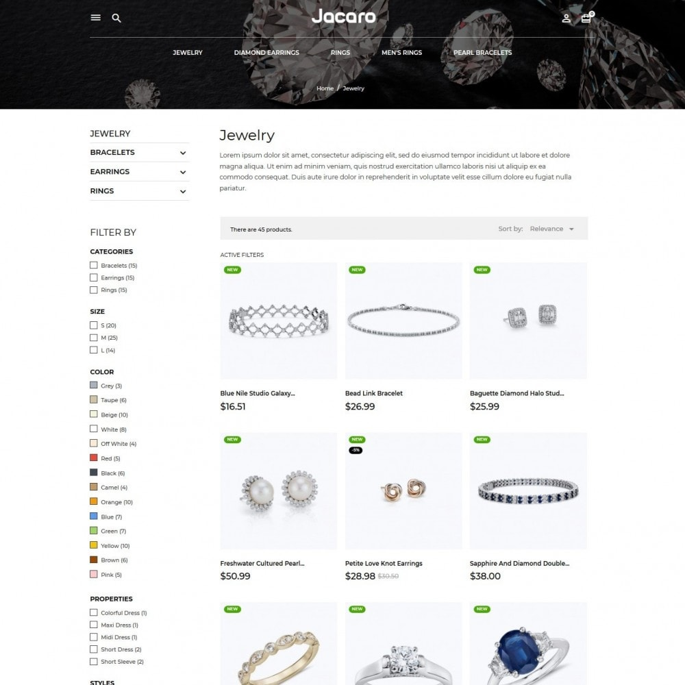 theme - Jewelry & Accessories - Jacaro - 5