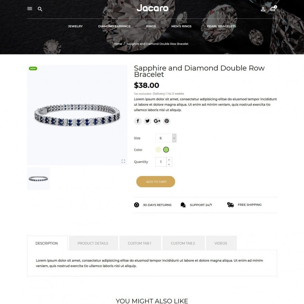 theme - Jewelry & Accessories - Jacaro - 6