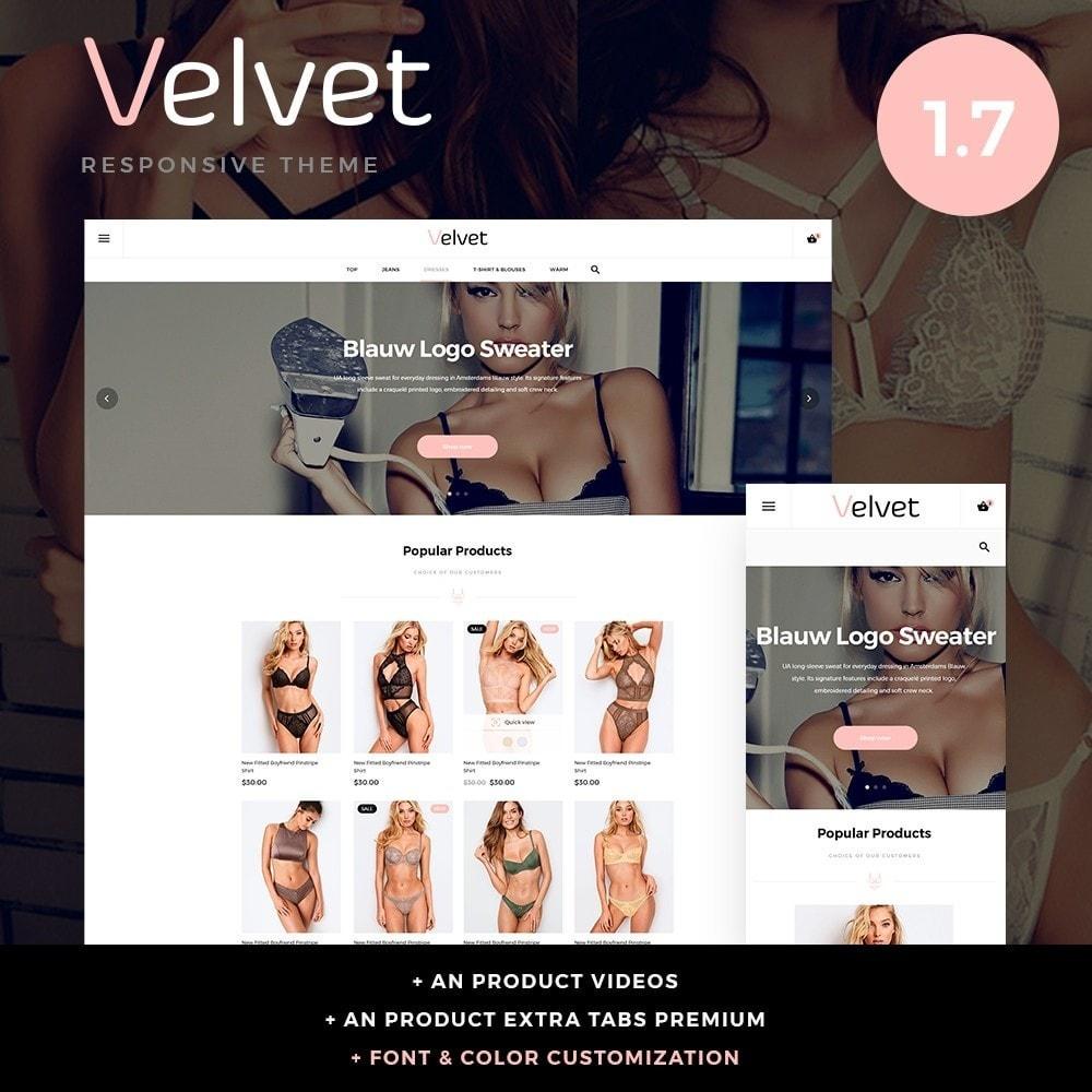 theme - Lingerie & Adultos - Velvet Lingerie Shop - 1