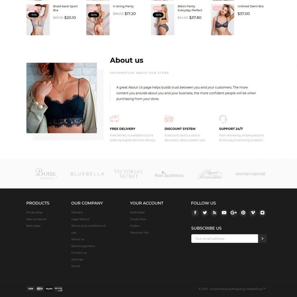 theme - Lingerie & Adultos - Velvet Lingerie Shop - 4
