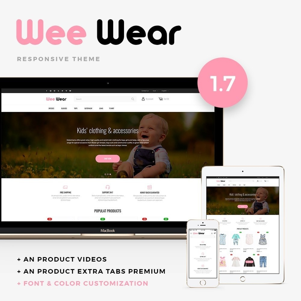 theme - Crianças & Brinquedos - Wee Wear - 1