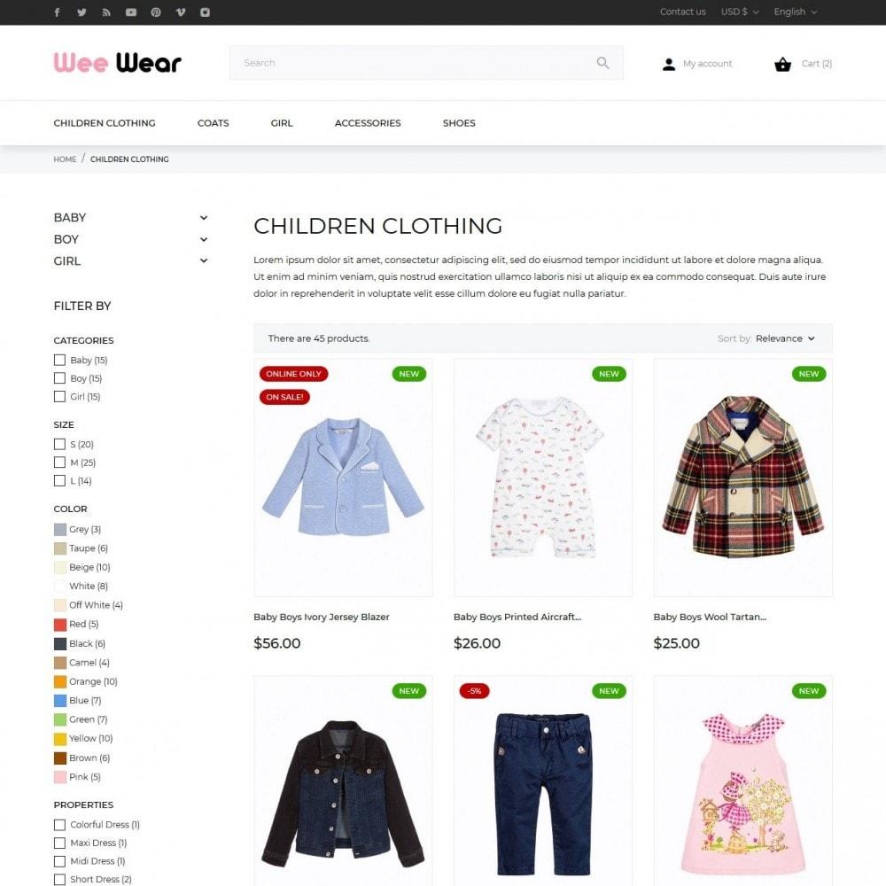 theme - Crianças & Brinquedos - Wee Wear - 5