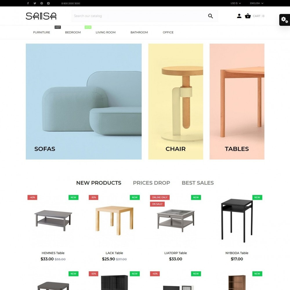 theme - Casa & Giardino - Saisa - 2