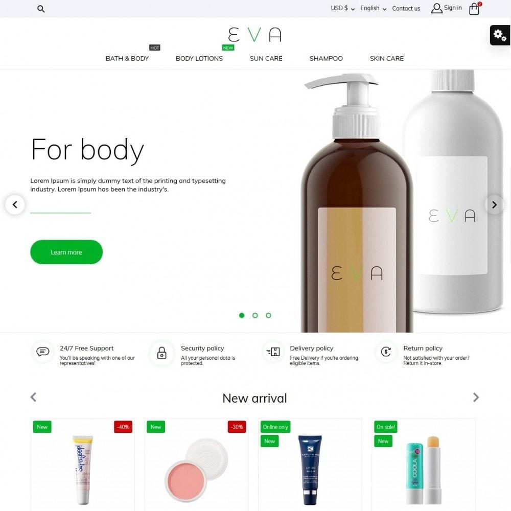 theme - Health & Beauty - Eva Cosmetics - 2