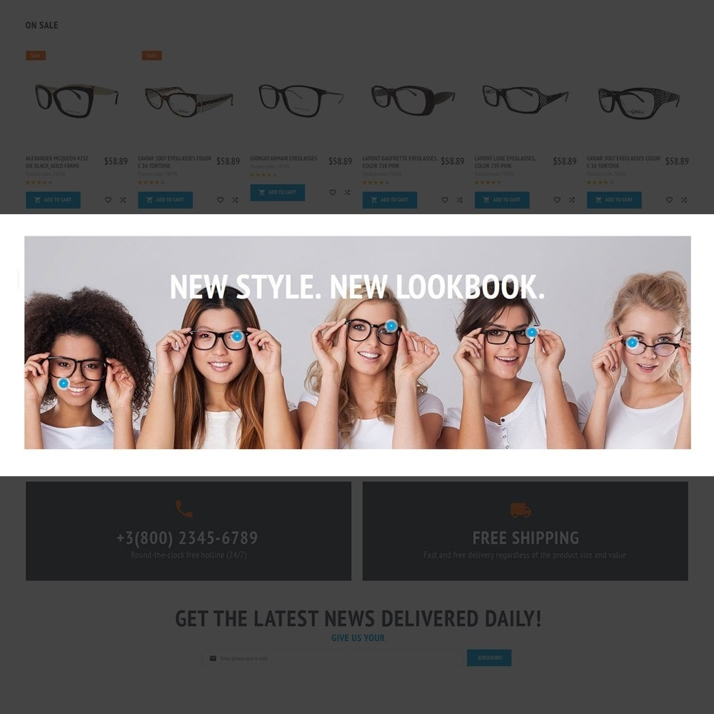 theme - Fashion & Shoes - MaxiGlass - Optometric Store - 5