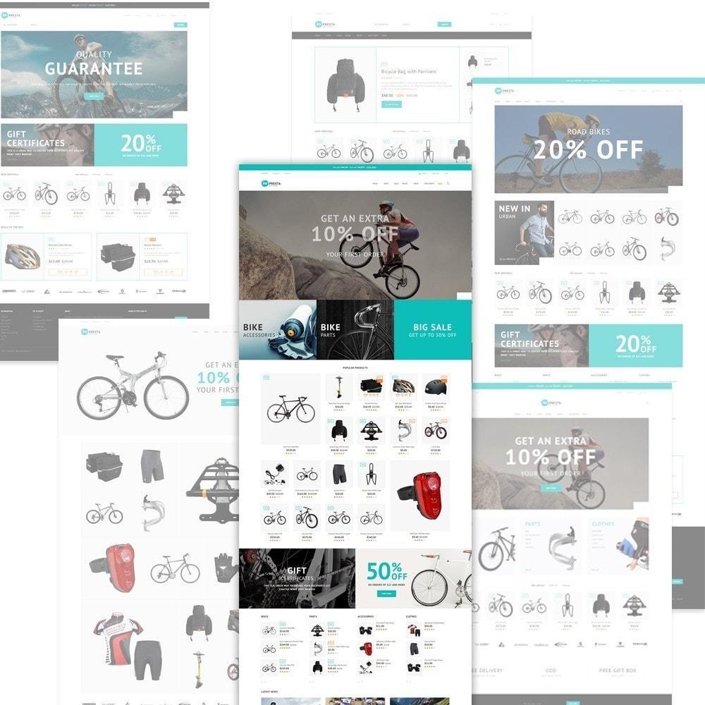 theme - Sport, Attività & Viaggi - Impresta - per Un Sito di Negozio di Biciclette - 3