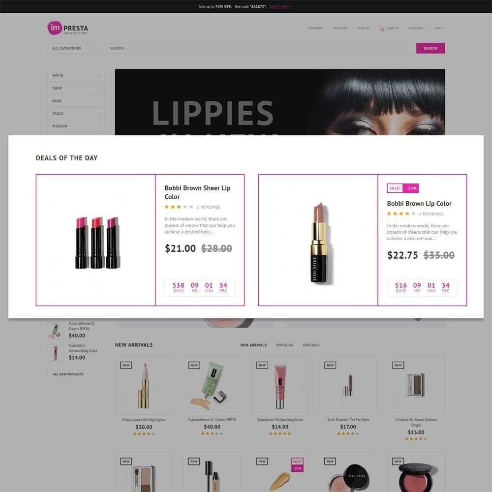 theme - Здоровье и красота - Impresta - шаблон для магазина косметики - 6