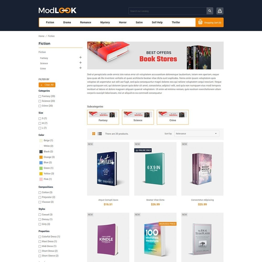 theme - Kunst & Cultuur - Modlook - Books Online Store - 3