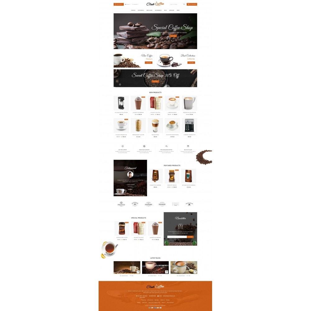 theme - Alimentos & Restaurantes - Club Coffee Shop - 2