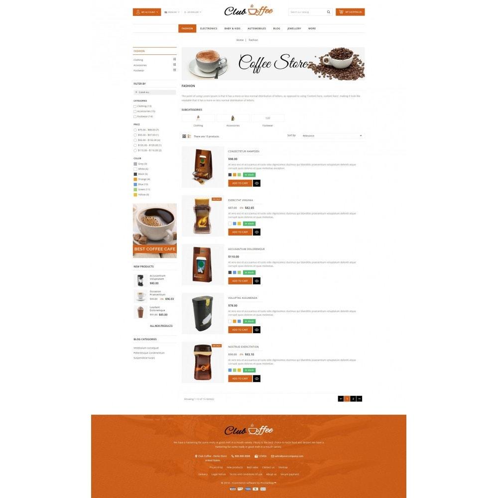 theme - Alimentos & Restaurantes - Club Coffee Shop - 4