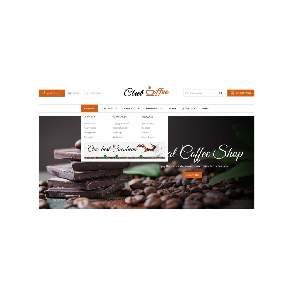 theme - Alimentos & Restaurantes - Club Coffee Shop - 6