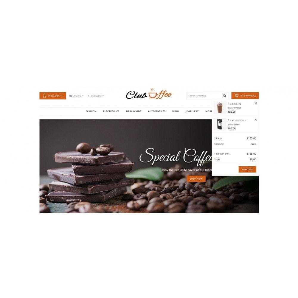 theme - Alimentos & Restaurantes - Club Coffee Shop - 8