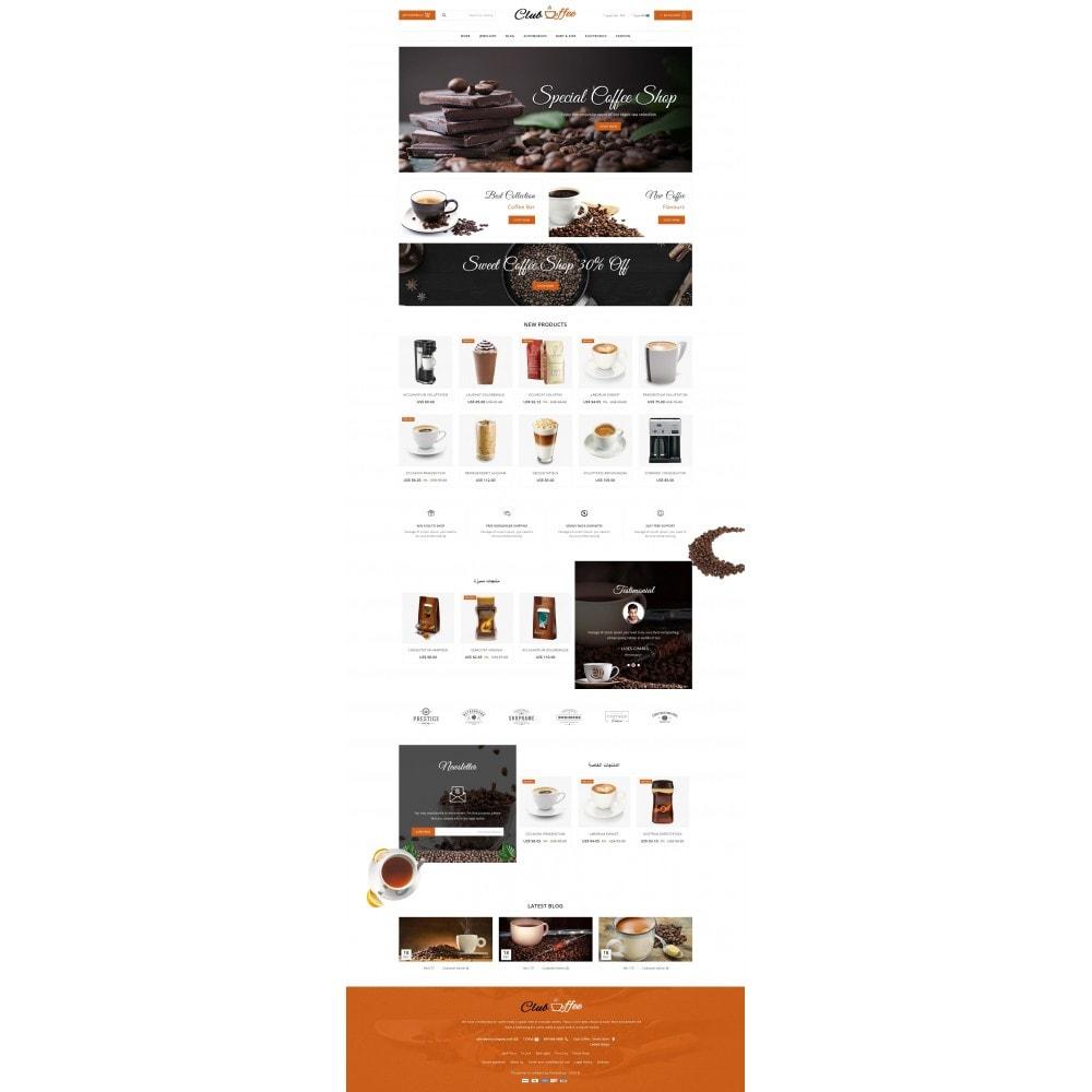 theme - Alimentation & Restauration - Club Coffee Shop - 10