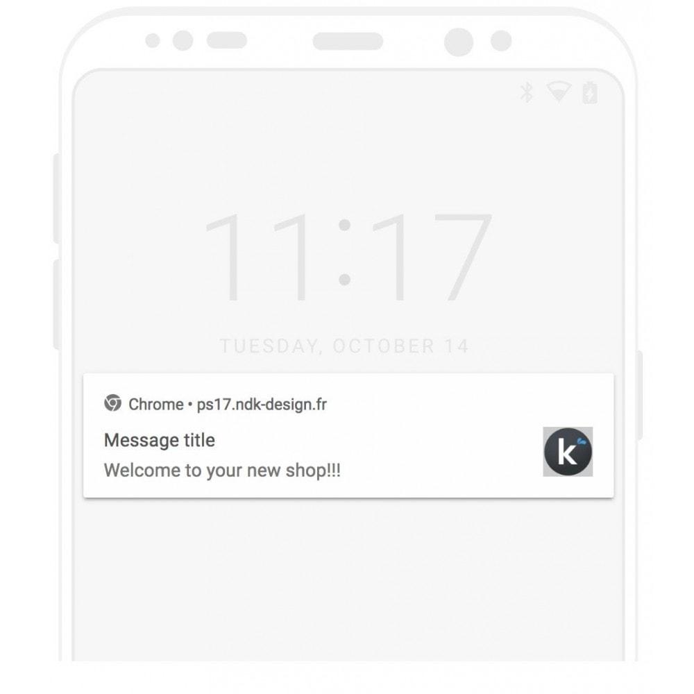 module - Mobile - PWA + notification Push - 2