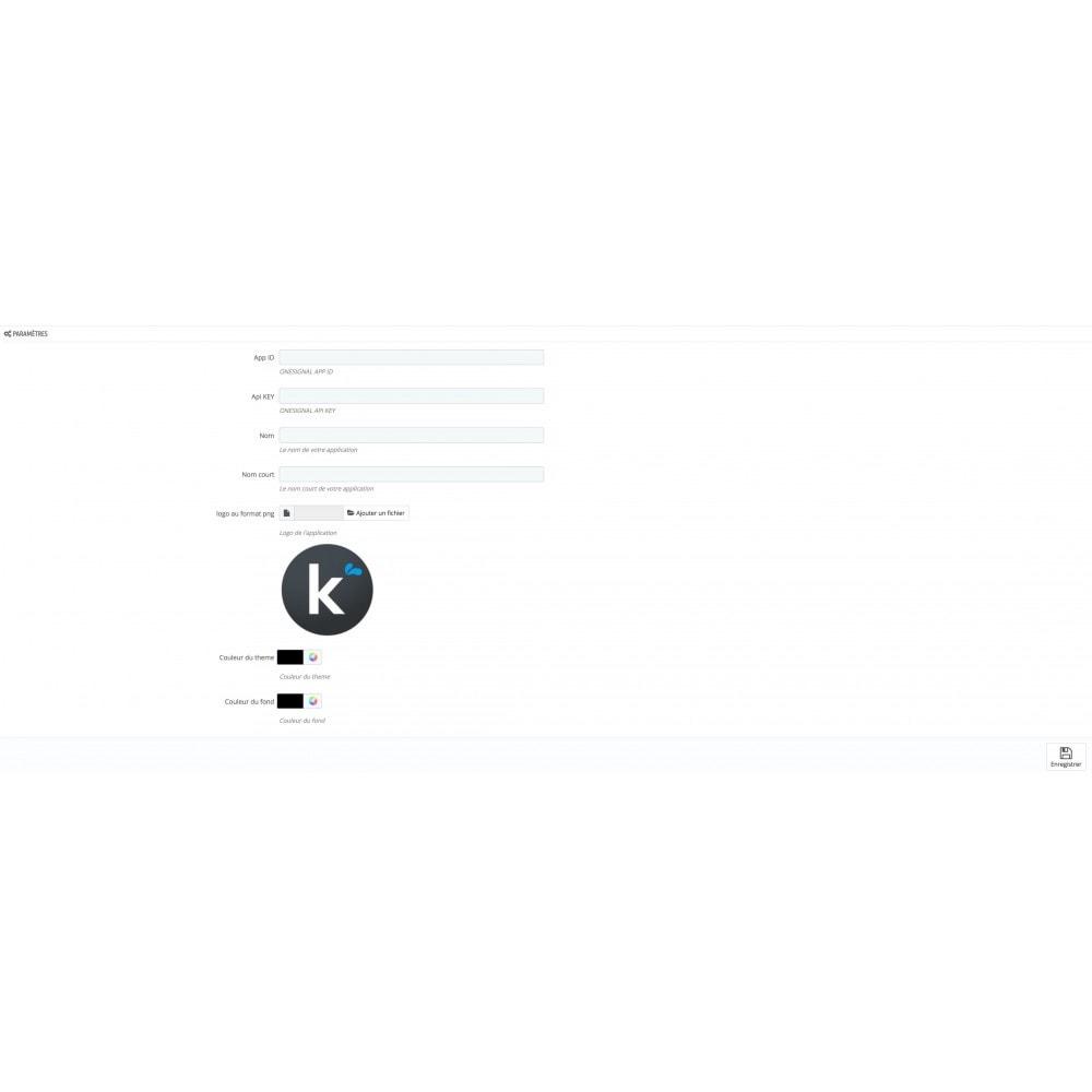 module - Mobile - PWA + notification Push - 4
