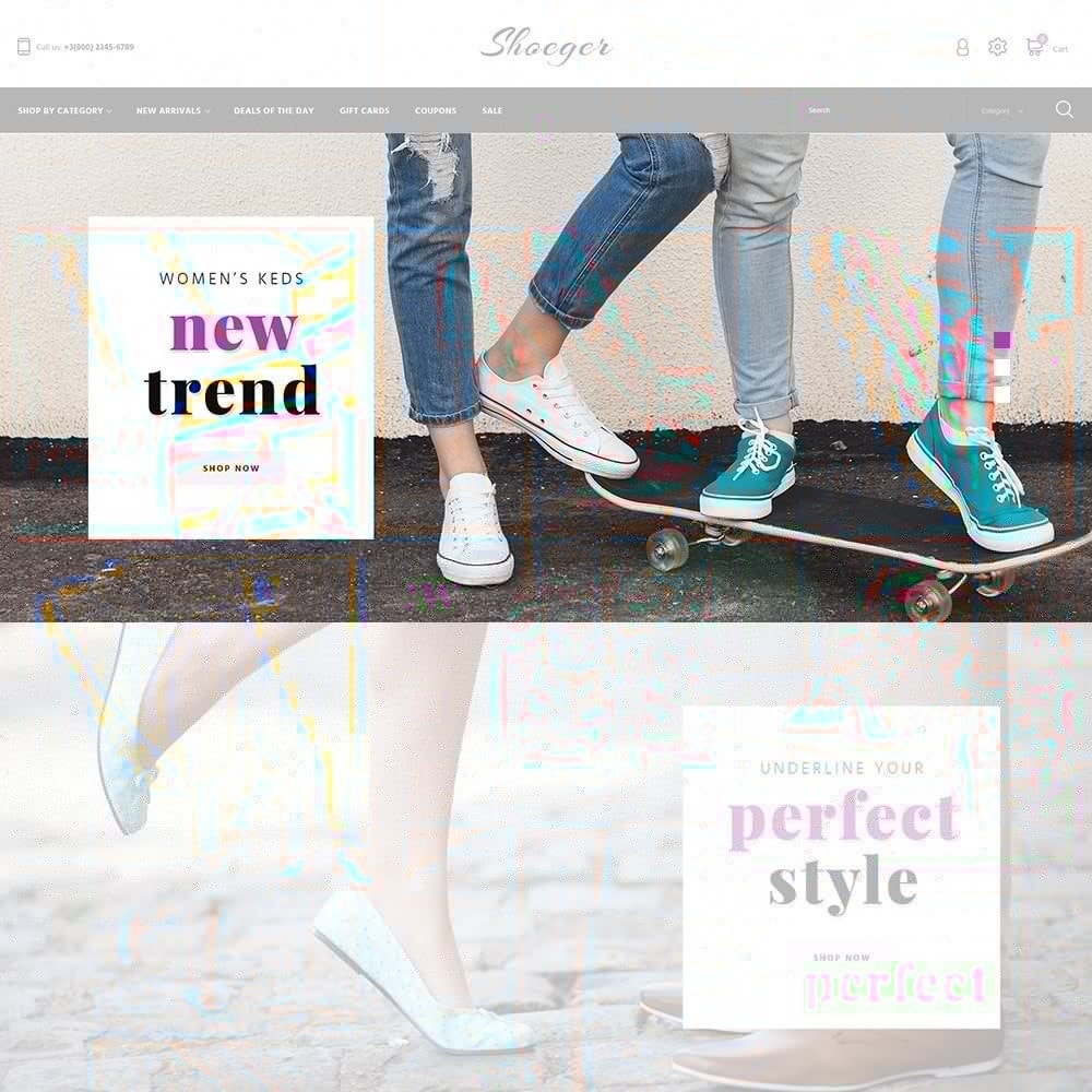 theme - Mode & Chaussures - Shoeger - 3