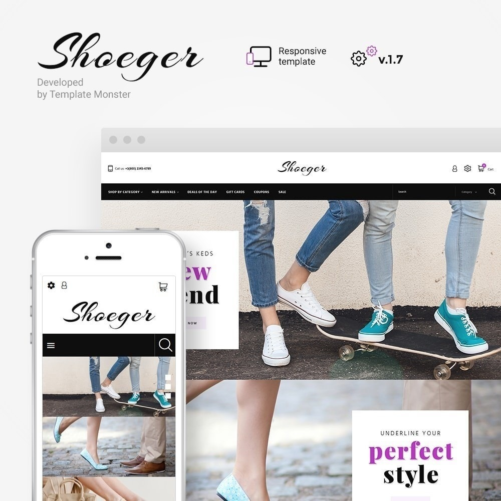theme - Moda & Calzature - Shoeger - 2