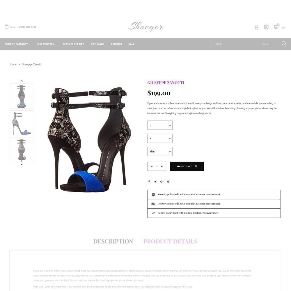 theme - Moda & Calzature - Shoeger - 4